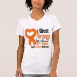 Llevo la cinta (nieta) - leucemia camiseta