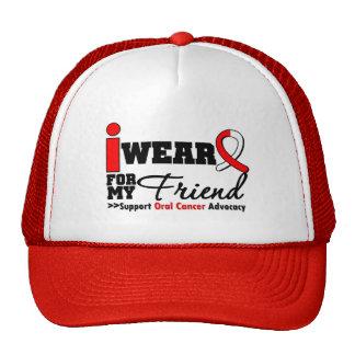 Llevo la cinta oral del cáncer para mi amigo gorro