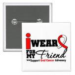 Llevo la cinta oral del cáncer para mi amigo pin