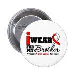 Llevo la cinta oral del cáncer para mi Brother Pin
