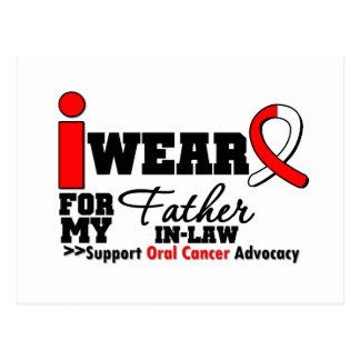 Llevo la cinta oral del cáncer para mi suegro postal