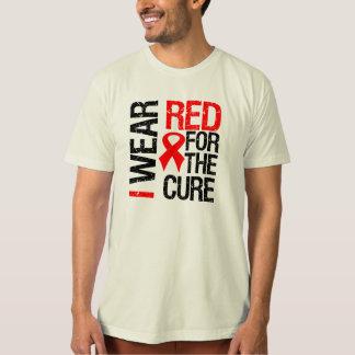 Llevo la cinta roja para la curación playera