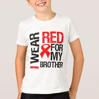 Llevo la cinta roja para mi Brother Playera
