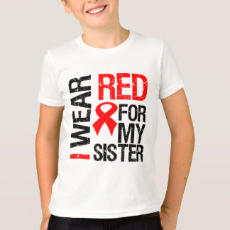 Llevo la cinta roja para mi hermana playera