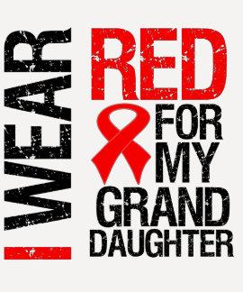 Llevo la cinta roja para mi nieta poleras