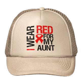 Llevo la cinta roja para mi tía gorra
