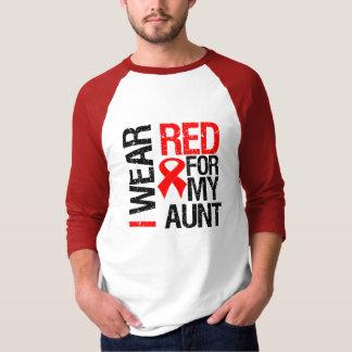 Llevo la cinta roja para mi tía playera