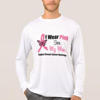 Llevo la cinta rosada de la mariposa para mi mamá playera