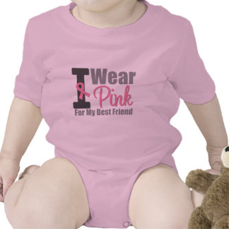 Llevo la cinta rosada para mi mejor amigo trajes de bebé