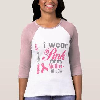 Llevo la cinta rosada para mi suegra camisetas