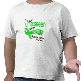 Llevo la enfermedad de Lyme de la mamá de la verde Camiseta