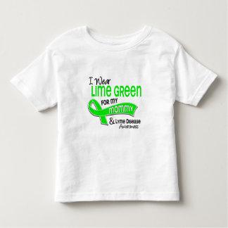 Llevo la enfermedad de Lyme de la mamá de la verde Playeras