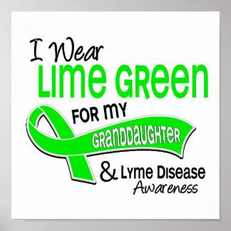 Llevo la enfermedad de Lyme de la nieta de la verd Impresiones