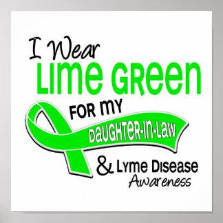 Llevo la enfermedad de Lyme de la nuera de la verd Poster