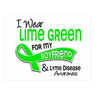 Llevo la enfermedad de Lyme del novio de la verde Postales