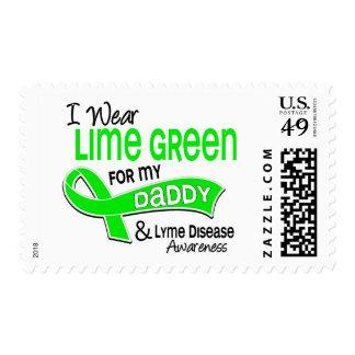 Llevo la enfermedad de Lyme del papá de la verde Sello