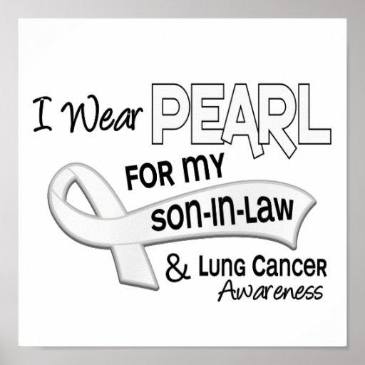 Llevo la perla para mi cáncer de pulmón del yerno  poster