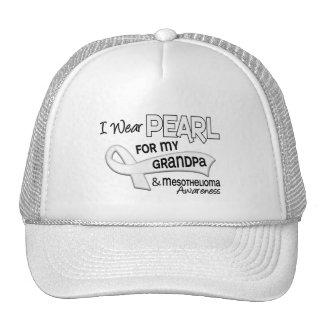 Llevo la perla para mi mesotelioma del abuelo 42 gorra