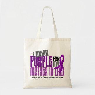 Llevo la púrpura para la enfermedad de Crohn de la Bolsa