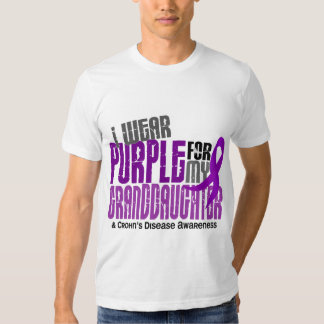 Llevo la púrpura para la enfermedad de Crohn de la Camisas