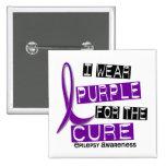 Llevo la púrpura para la epilepsia de la curación  pin