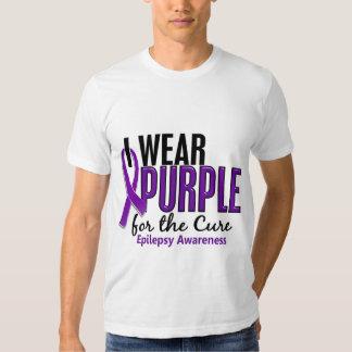 Llevo la púrpura para la epilepsia de la curación playeras