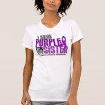 Llevo la púrpura para la mi enfermedad de Crohn de Camisetas