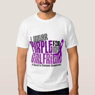 Llevo la púrpura para la mi enfermedad de Crohn de Poleras