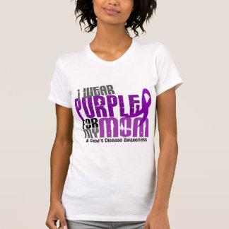 Llevo la púrpura para la mi enfermedad de Crohn de Remeras