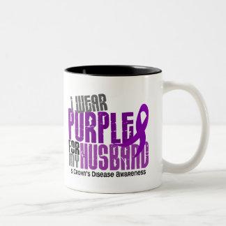 Llevo la púrpura para la mi enfermedad de Crohn de Taza