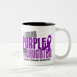 Llevo la púrpura para la mi enfermedad de Crohn de Taza De Café
