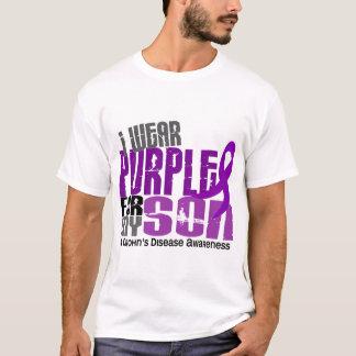 Llevo la púrpura para la mi enfermedad de Crohn Playera