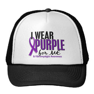 Llevo la púrpura para MÍ el Fibromyalgia 10 Gorra