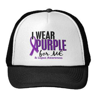 Llevo la púrpura para MÍ el lupus 10 Gorros