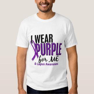 Llevo la púrpura para MÍ el lupus 10 Playera