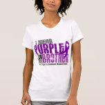 Llevo la púrpura para mi enfermedad de Brother 6 Camisetas