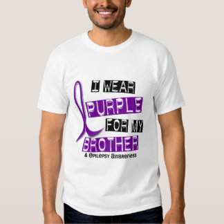 Llevo la púrpura para mi epilepsia de Brother 37 Remera