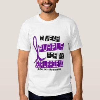 Llevo la púrpura para mi epilepsia de la novia 37 playera