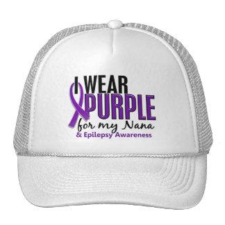 Llevo la púrpura para mi epilepsia de Nana 10 Gorro