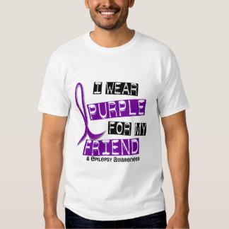 Llevo la púrpura para mi epilepsia del amigo 37 camisas