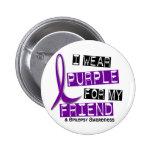 Llevo la púrpura para mi epilepsia del amigo 37 pins