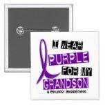 Llevo la púrpura para mi epilepsia del nieto 37 pins