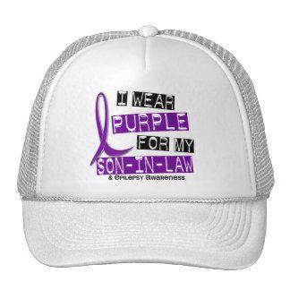 Llevo la púrpura para mi epilepsia del yerno 37 gorras