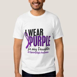 Llevo la púrpura para mi Fibromyalgia de la hija Camisas