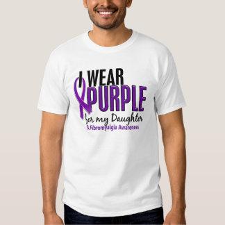Llevo la púrpura para mi Fibromyalgia de la hija Polera