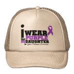 Llevo la púrpura para mi fibrosis quística de la h gorros