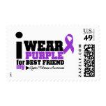 Llevo la púrpura para mi fibrosis quística del sello