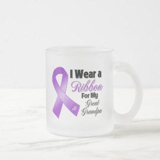 Llevo la púrpura para mi Grande-Abuelo Tazas