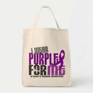 Llevo la púrpura para MÍ la enfermedad de 6 Crohne Bolsas