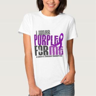 Llevo la púrpura para MÍ la enfermedad de 6 Poleras